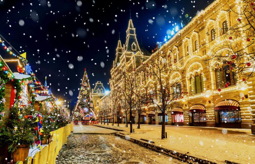 Автобусный тур в Москву на Новый год