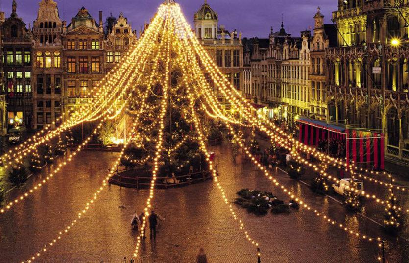 Автобусный тур по Франции и Европе на Рождество Рождественская Франция