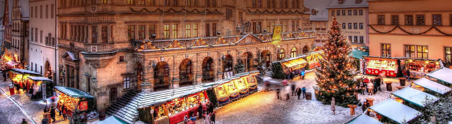 Рождественское путешествие по Баварии Автобусный тур в Германию на Рождество