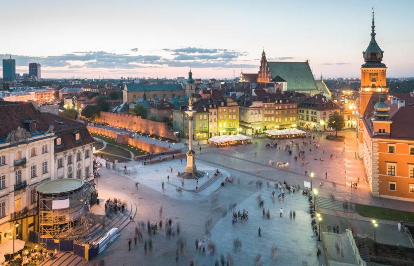 Автобусный тур в Варшаву из Минска Варшавский аккорд