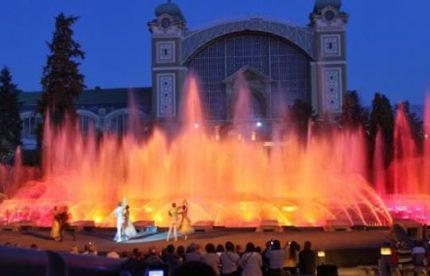 Экскурсии по Праге Поющие фонтаны