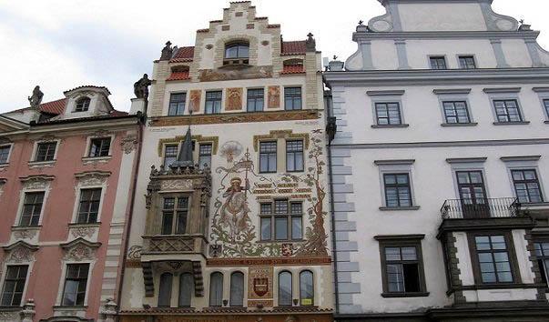 Достопримечательности Праги Шторховский дом