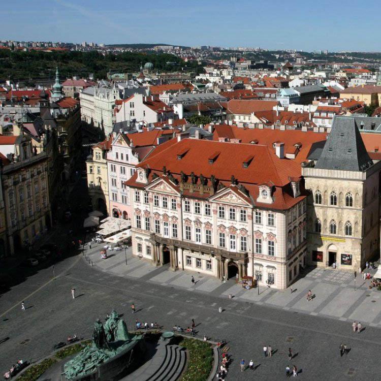 Достопримечательности Праги Дворец Гольц-Кинских