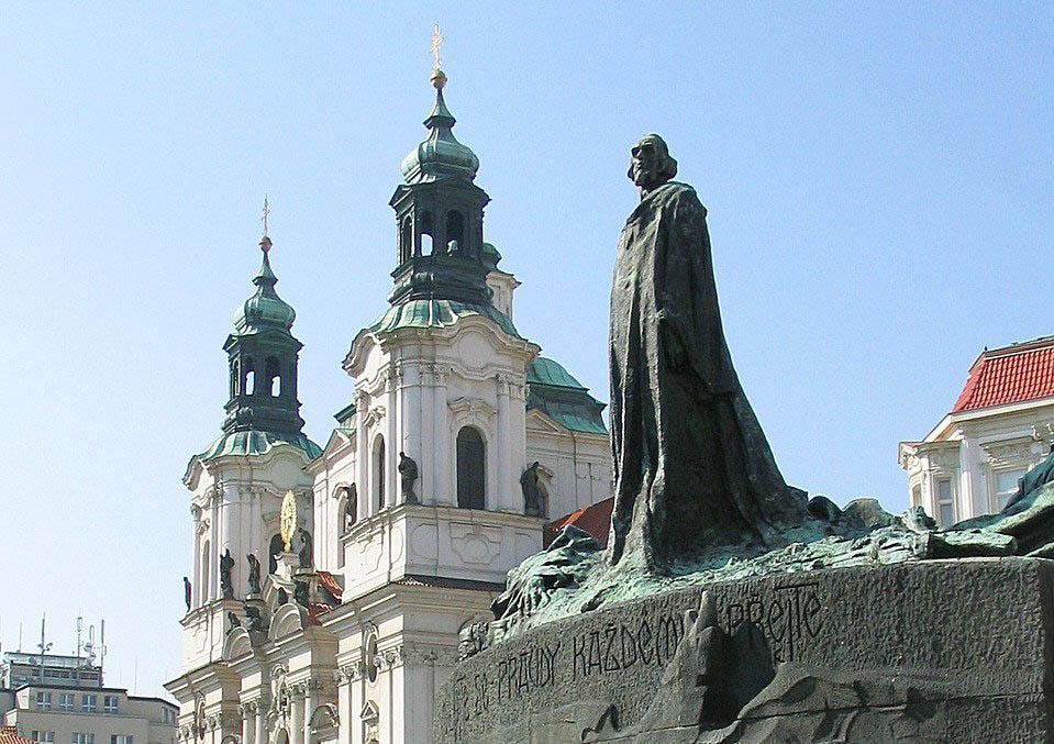 Достопримечательности Праги Памятник Яну Гусу