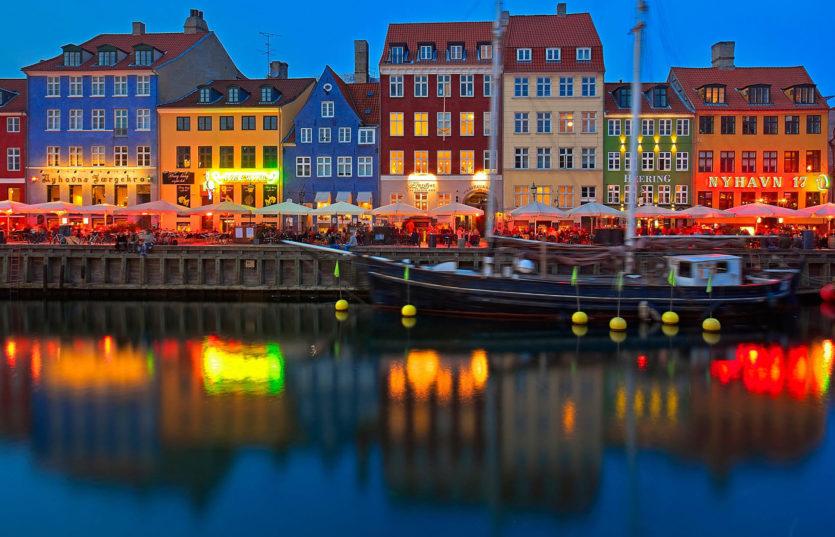 Автобусный тур в Данию Цветные дома Копенгагена