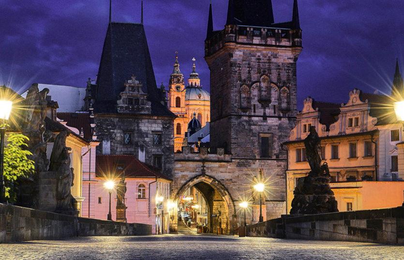 Прогулка по вечерней Праге