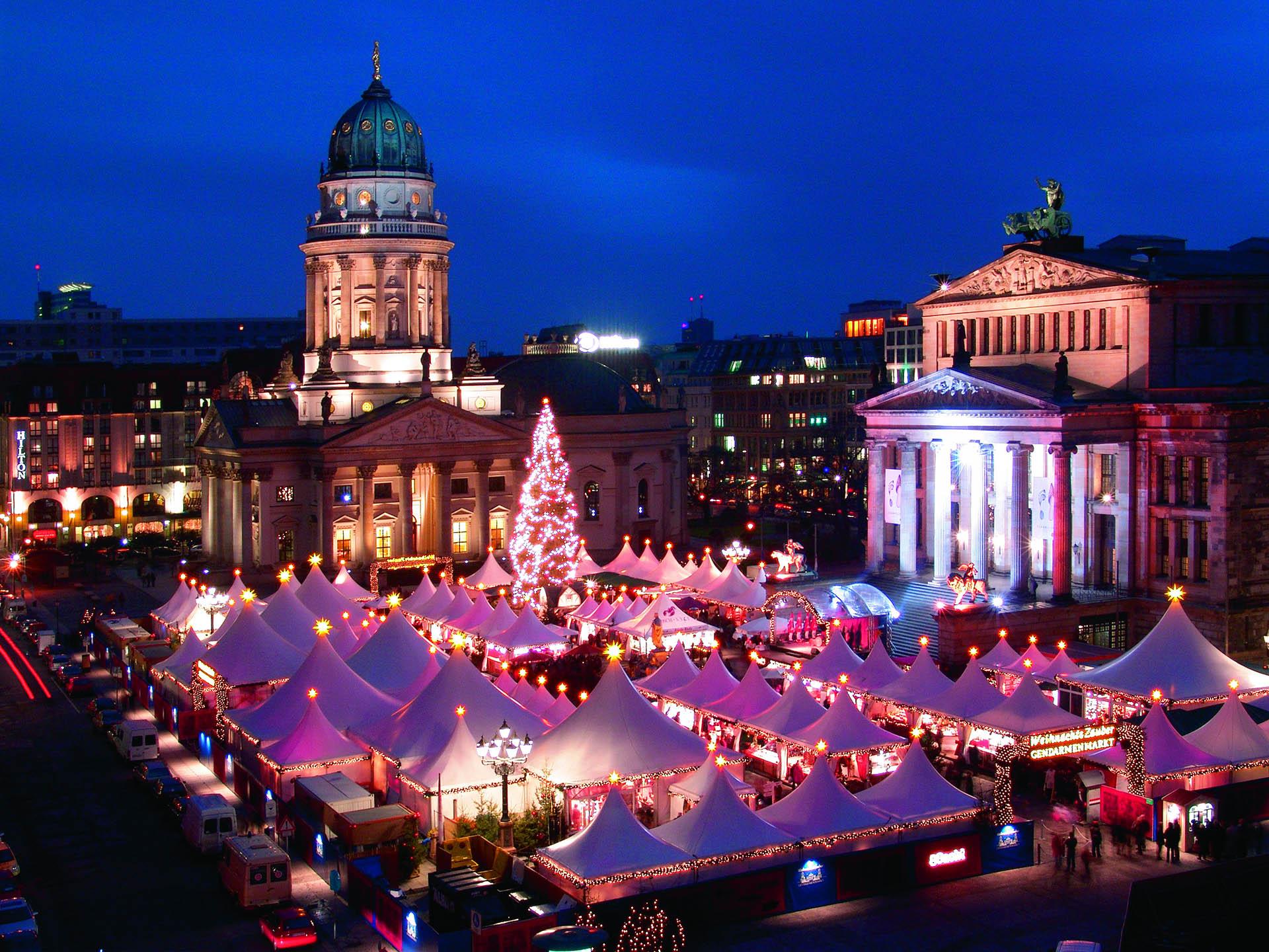 Автобусный тур в Берлин Рождественские ярмарки в Берлине