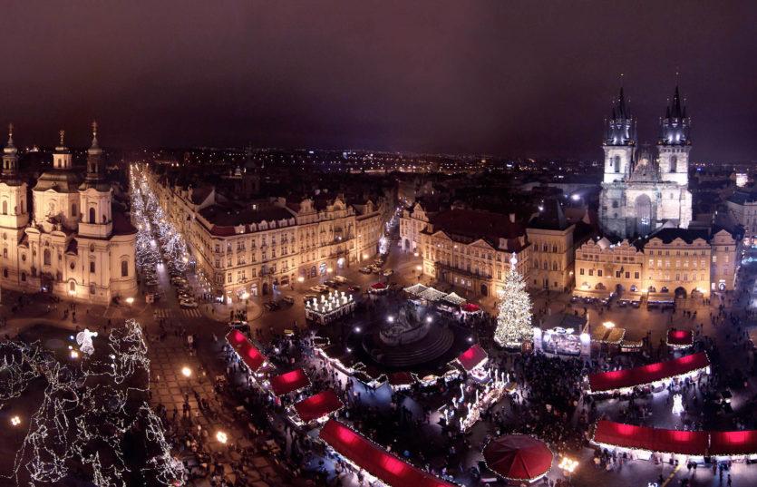 Автобусный тур в Прагу из Минска на Рождество Рождественская сказка