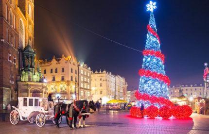 Автобусный тур в Польшу на Новый год без ночных переездов Новый год в сердце Кракова