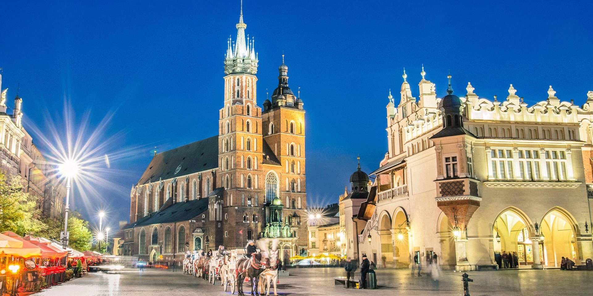 Автобусный тур в Польшу на Новый год 2018-2019 без ночных переездов Новый год 2019 в сердце Кракова