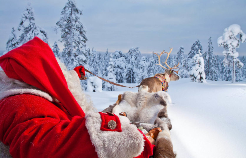 Новогоднее путешествие в Лапландию к Санта Клаусу Автобусный тур из Минска