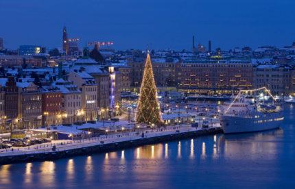 Новогодний круиз Таллин — Хельсинки — Стокгольм — Хельсинки — Таллин Автобусно-паромный тур из Минска