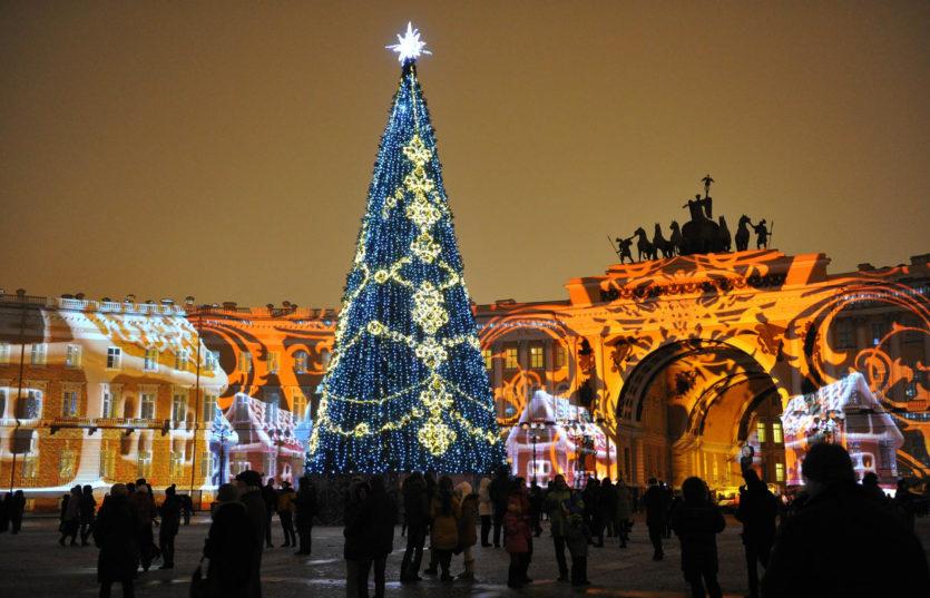 Новый год в Санкт-Петербурге Новогодний автобусный тур в Питер