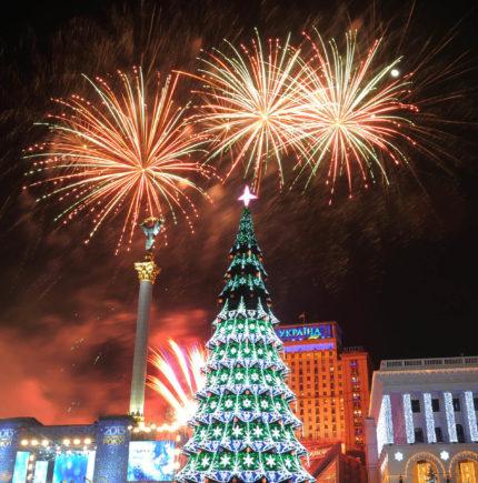 Новый год в Киеве Новогодний автобусный тур из Минска