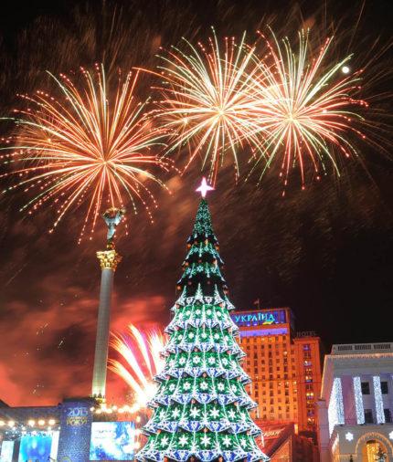 Новый год в Киеве 2019 Новогодний автобусный тур из Минска