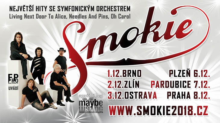 Концерты в Чехии: Smokie – The Symphony Tour