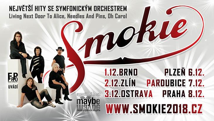 Концерты в Чехии: Smokie – The Symphony Tour