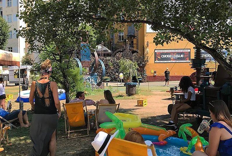Гастрономический фестиваль в Праге. Апрель 2019 Street Food Festival Holešovice