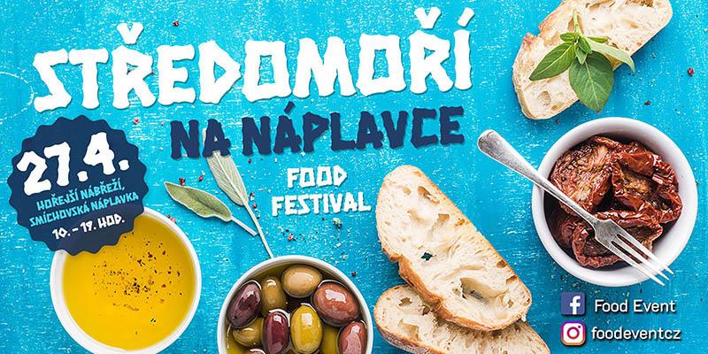 Гастрономический фестиваль в Праге. Апрель 2019 Средиземноморье на Наплавке