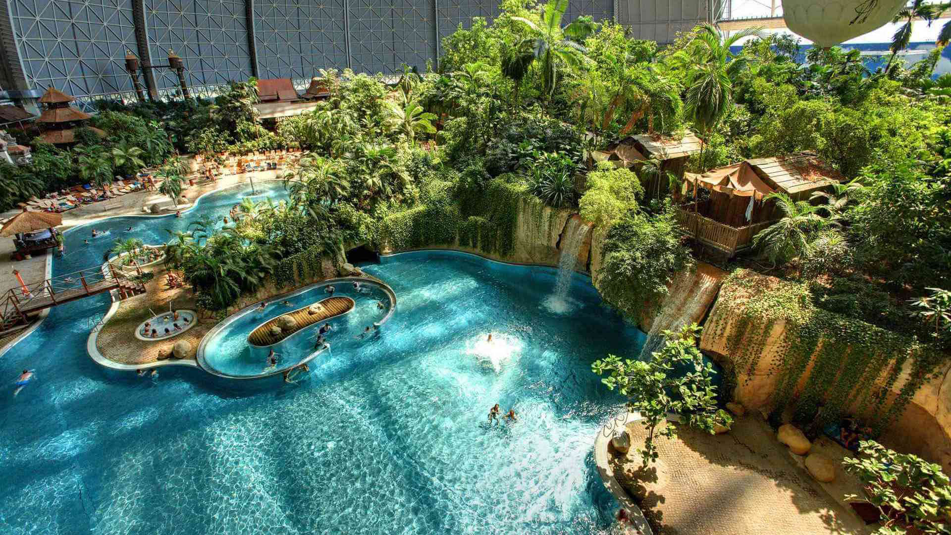 Автобусный тур в Берлин аквапарк Tropical Islands