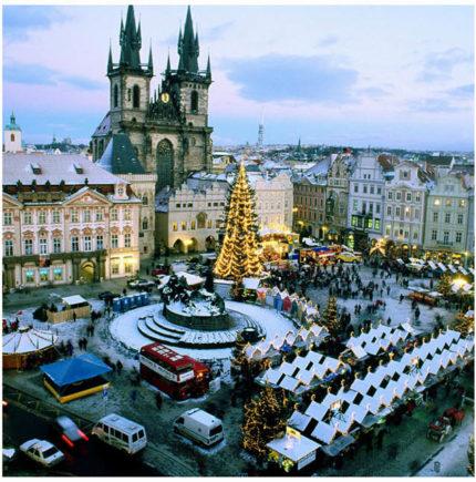 Рождественский дуэт: Прага — Дрезден тур в Чехию на рождество